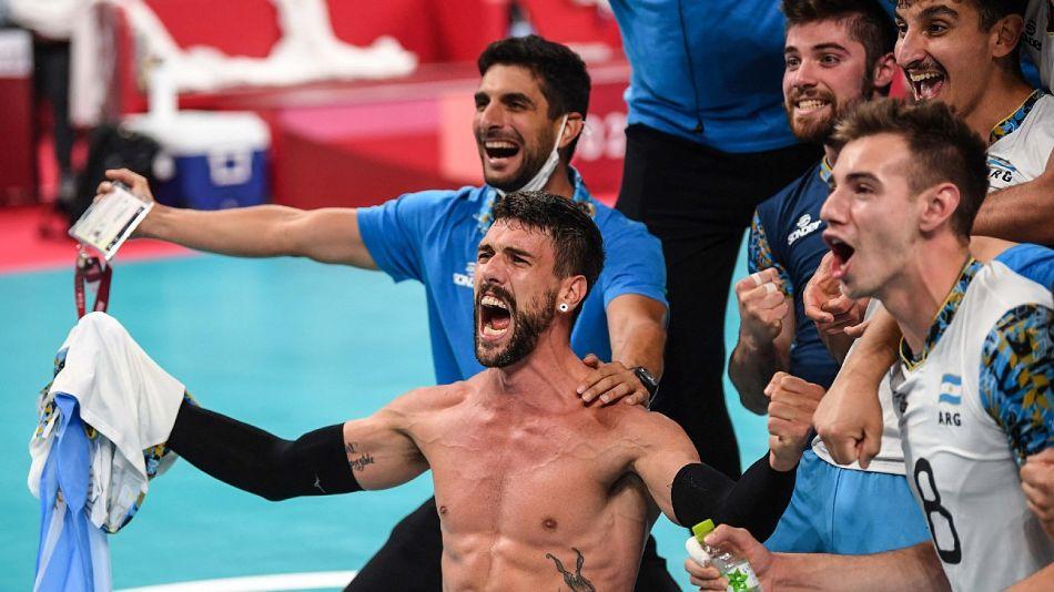 Conte encabeza el grito que el voley argentino esperó 33 años: volver a las medallas en un Juego Olímpico.
