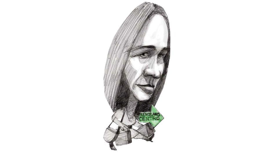 ¡CUIDADO  AL CRUZAR! María Eugenia Vidal.