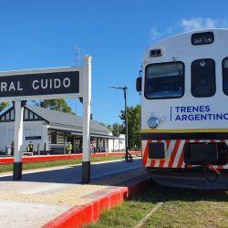El tramo entre las estaciones General Guido y Divisadero, Pinamar, costará $170.