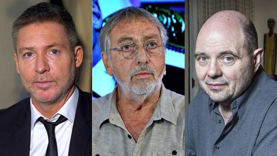 Adrián Suar, Luis Brandoni y Carlos Rottemberg 20210809