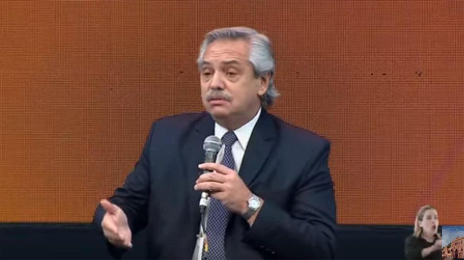 Alberto Fernández en Tecnópolis 20210809