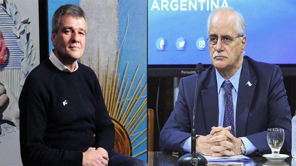 Juan Zabaleta y Jorge Taiana 20210809