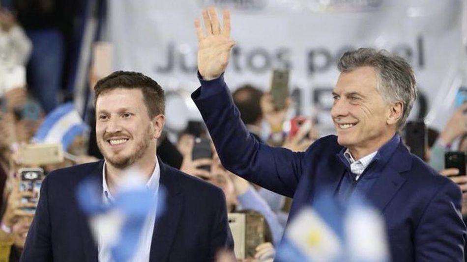 Macri con Federico Angelini 20210809