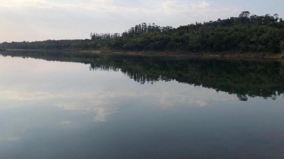 Sequía en el Río Paraná 20210809