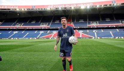 Messi nuevo jugador del PSG