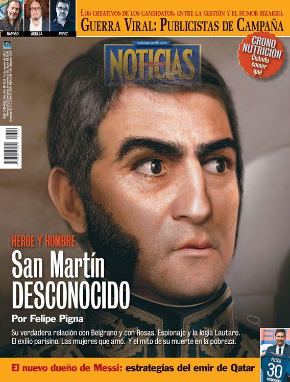 Tapa Nº 2329 | Héroe y hombre: San Martín desconocido | Foto:Pablo Temes