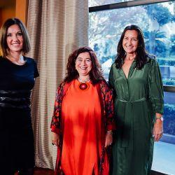 Diana Arias, Mariela Ivanier y Andrea Grobotocopatel.