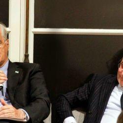 Jorge Taiana y Jorge Faure.  | Foto:CEDOC