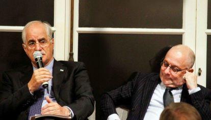 Jorge Taiana y Jorge Faurie