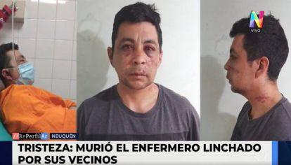 Murió Daniel Porro, el enfermero que fue linchado por contagiarse de coronavirus