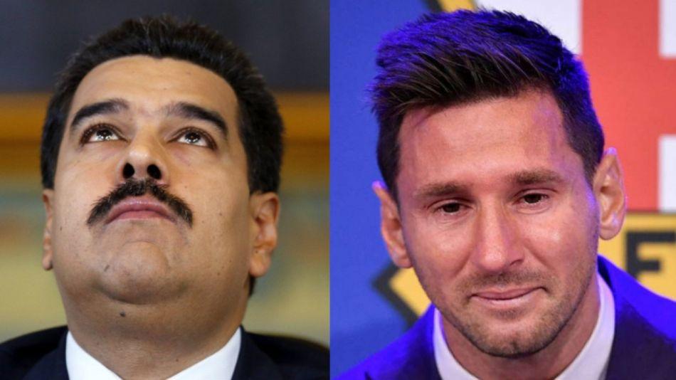 Maduro Messi