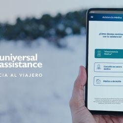 Universal Assistance incorporó el contacto médico desde su app sin necesidad de llamar al call center.