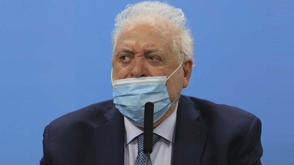 Ginés González García, vacunatorio vip-20210812