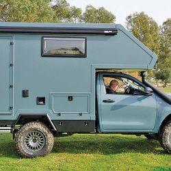 El camper para vehículos con caja de carga es una de las mejores opciones para travesías tipo 4x4.