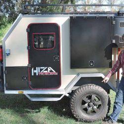 Mini rodante off road, con estructura reforzada para aventurarse por terrenos difíciles.