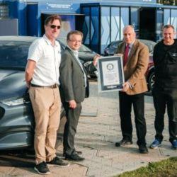 El SUV eléctrico de Ford registró más de 800 kilómetros de autonomía.