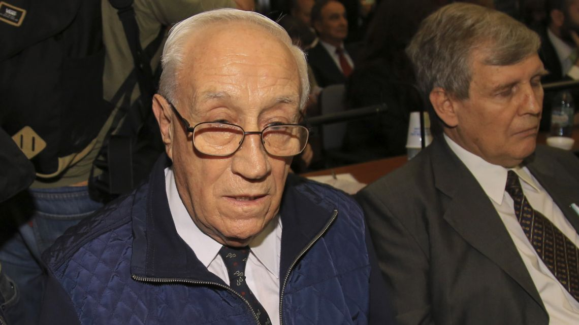 Jorge 'Tigre' Acosta, pictured in court.