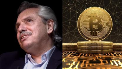 presidente y bitcoins