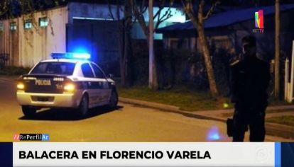 Tiroteo en Florencio Varela