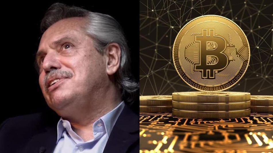 presidente y bitcoins 20210813