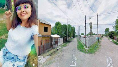Inocente. Milagros Saavedra, una de las tres víctimas fatales. El tiroteo fue en la esquina de Ciudadela y Laguna de Iberá.