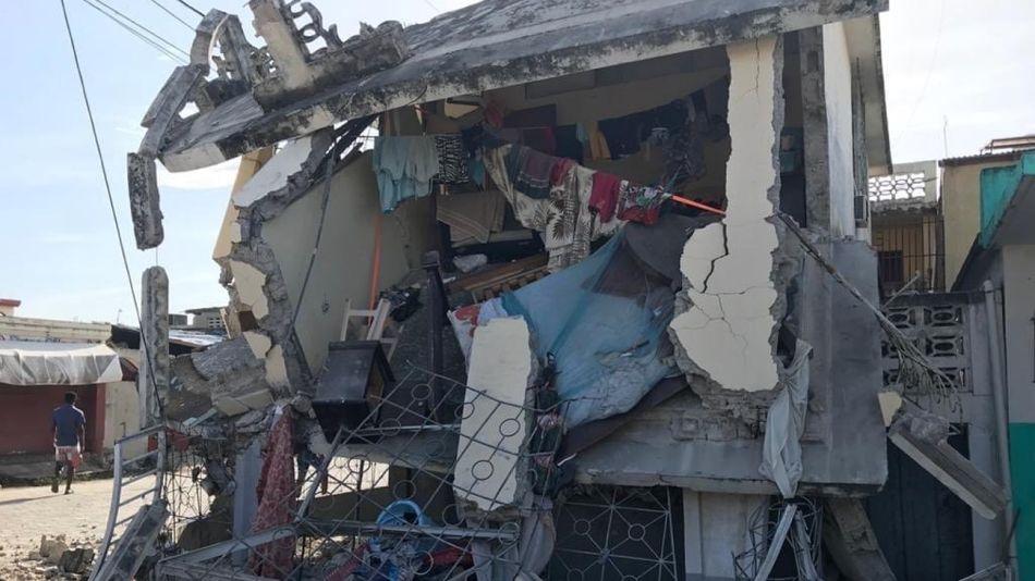 Algunas fotos del sur de Haití, con los graves daños provocados por el sismo de 7,2 grados.