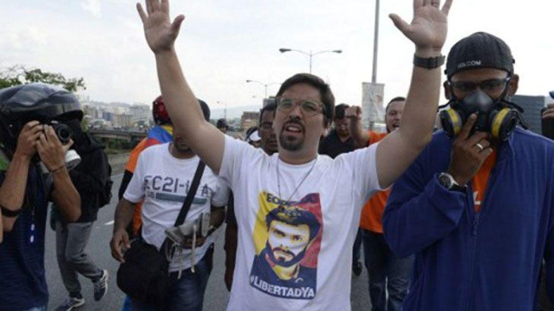 Freddy Guevara.