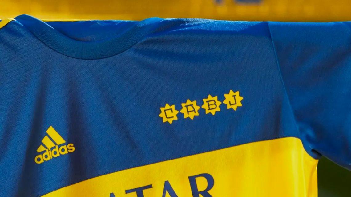 The new Boca Juniors replica shirt harks back to the 1981 kit worn by Diego Armando Maradona.