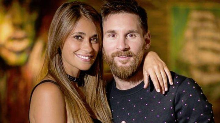 Antonela Roccuzzo le hizo un regalo personalizado a Lionel Messi: enterate de que se trata