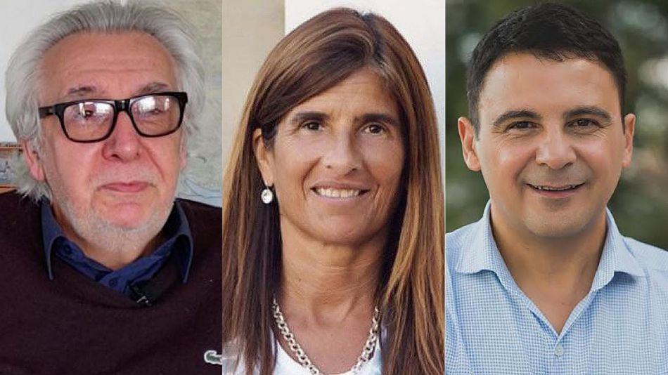 Artemio López, Mariela Foroni y Gustavo Córdoba 20210817