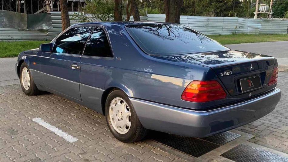 Mercedes Benz de Alfredo Yabrán 20210817