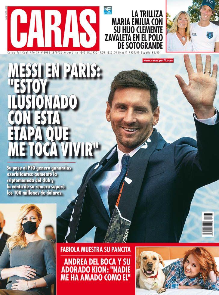 """Lionel Messi en París: """"Estoy ilusionado con esta etapa que me toca vivir"""""""