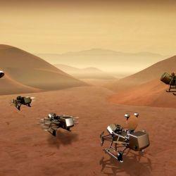 El interés por Titán se debe a sus similitudes con la Tierra.
