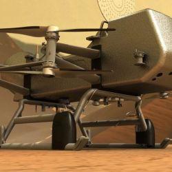 La misión Dragonfly tendrá la particularidad de que la exploración estará a cargo de un helicóptero robot.