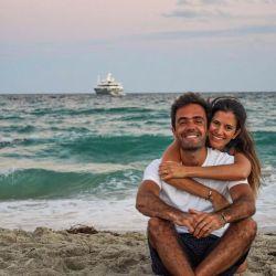 Gonzalo y su mujer, hoy instalados en Costa Rica.