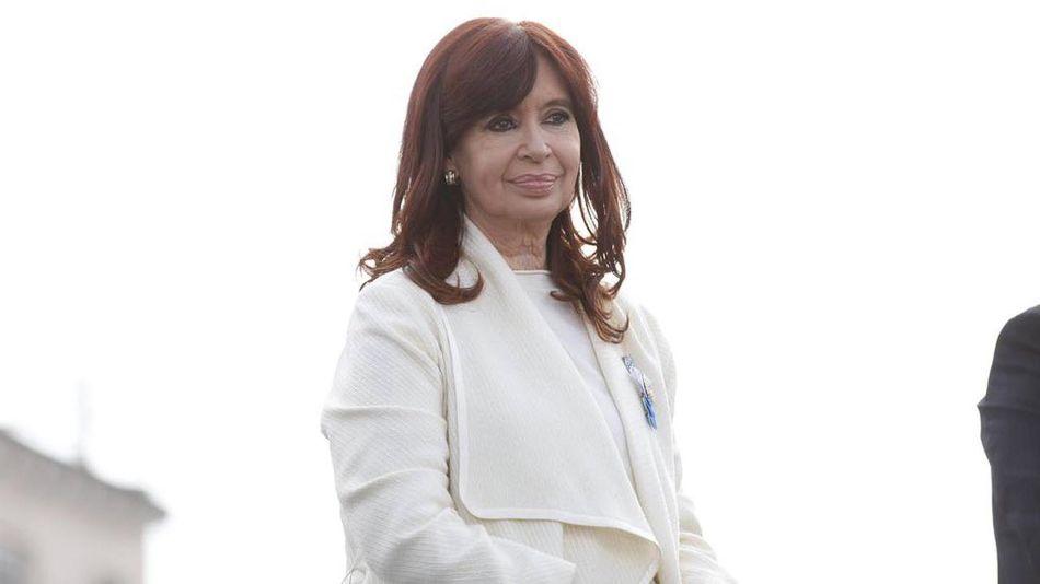 Cristina Fernández en el Acto de Avellaneda 20210818