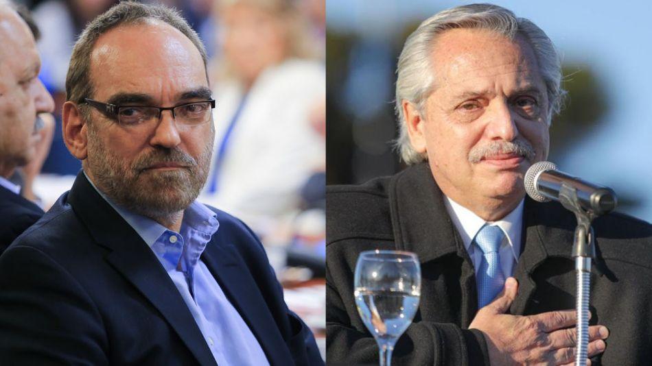 Fernando Iglesias y Alberto Fernández 20210818