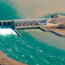La central hidroeléctrica El Chocón es parte del progama encarado por el Ministerio de Ambiente y Desarrollo Sostenible.