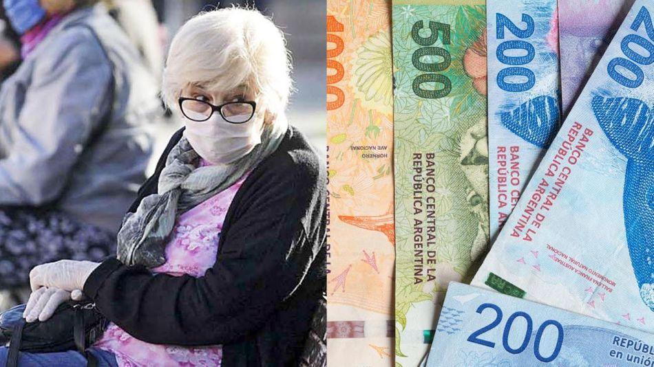 Jubilados y papel moneda 20210819