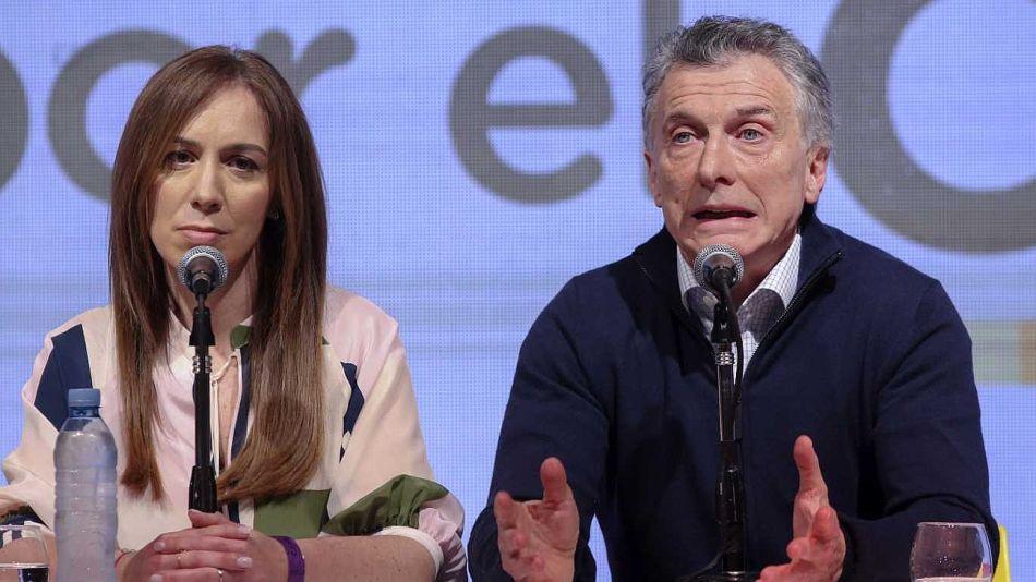 María Eugenia Vidal y Mauricio Macri