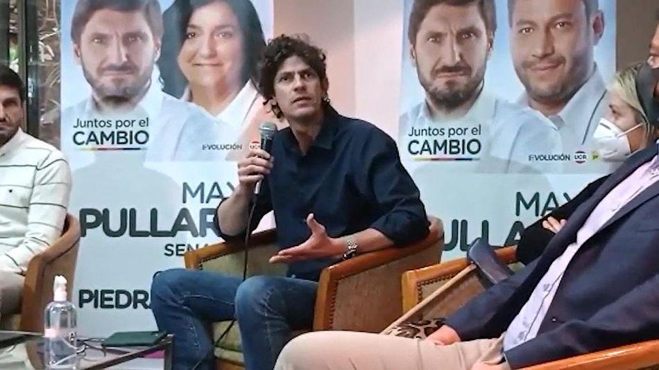 Martín Lousteau en Rosario 20210819