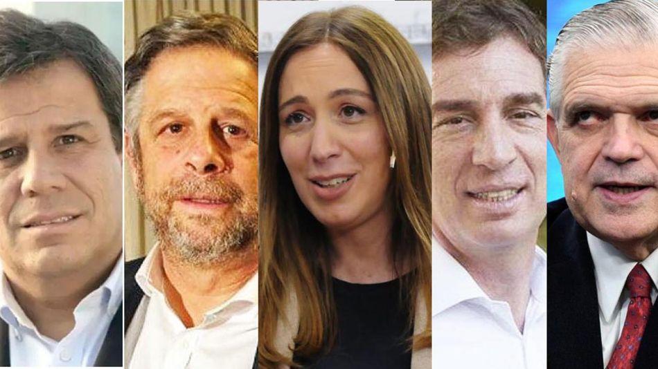 Santilli, Vidal, Manes, López Murphy y Rubinstein. 20210819