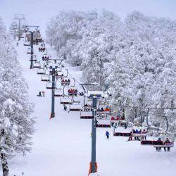 El centro de esquí Chapelco tiene habilitada una amplia zona que va desde la cota 1820 hasta la base.