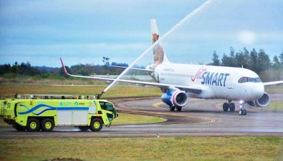 Aviones de Jetsmart.