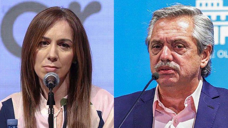 María Eugenia Vidal y Alberto Fernández 20210820