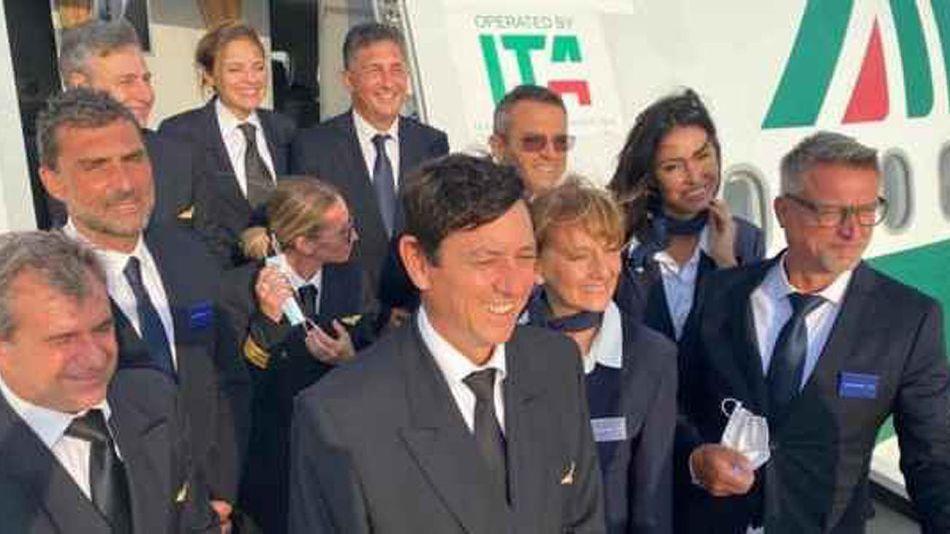 Vuelo de prueba ITA ex Alitalia 20210820