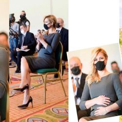 Photos published last weekend sparked rumours over First Lady Fabiola Yáñez and a potential pregnancy.