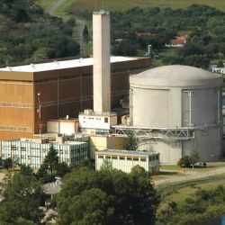 The Embalse Nuclear Power Station in Córdoba Province, one of three operational nuclear power plants in Argentina.