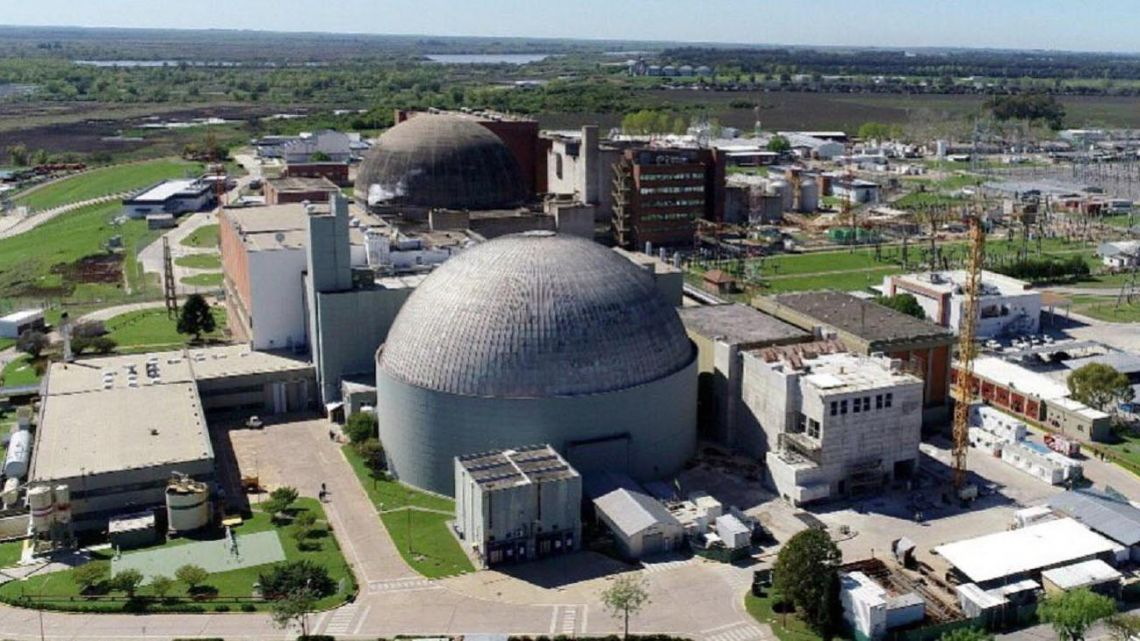 Atucha Nuclear Complex in Lima, Zárate, Buenos Aires Province.