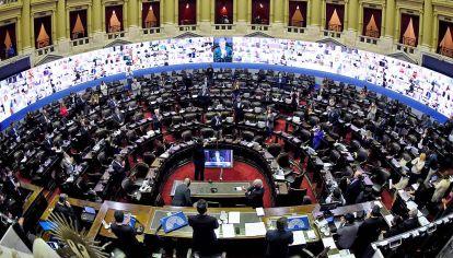 Bloque. El FdT necesita sumar 9 diputados para tener mayoría propia.